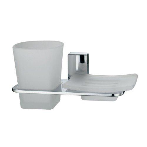 Держатель стакана и мыльницы Wasser Kraft Leine К-5026