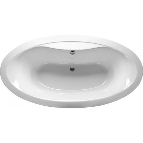 Ванна акриловая 194х100 овальная Vayer Beta KPL
