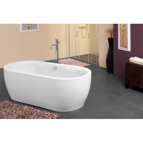 Ванна 178x88 акриловая с цельнолитой панелью, Siris FS Basis, Kolpa-San