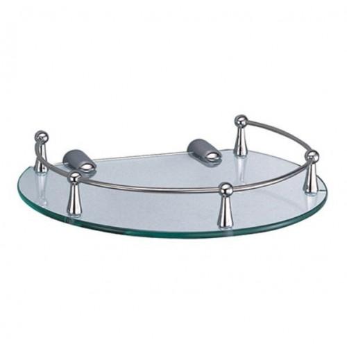 Полка для ванной стеклянная К-566 Wasser Kraft