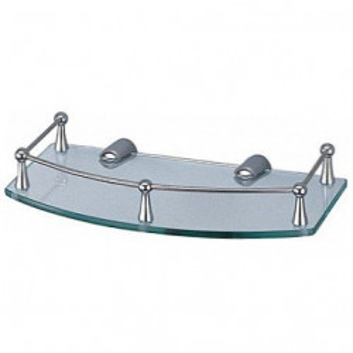 Полка для ванной стеклянная К-588 Wasser Kraft