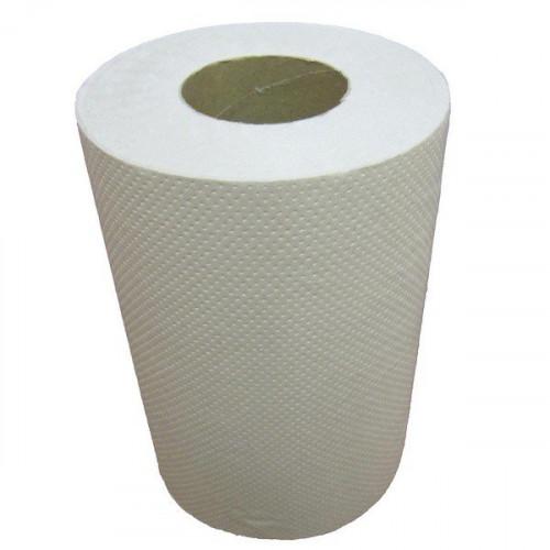 Бумажные полотенца в рулонах. Однослойные.