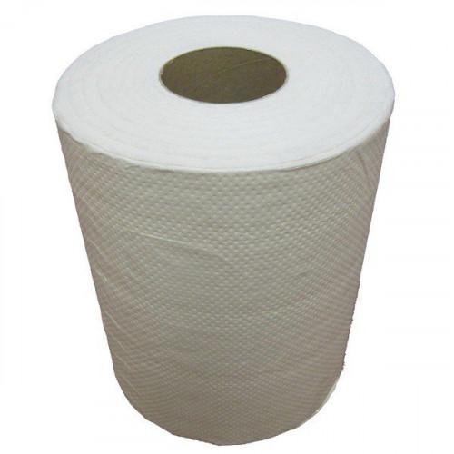 Бумажные полотенца в рулонах. Двухслойные, с перфорацией.