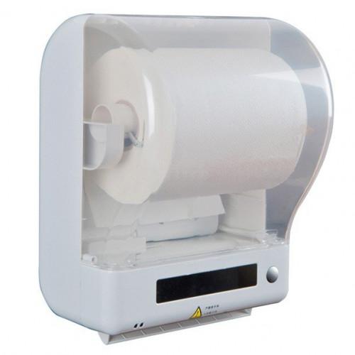 Автоматический диспенсер рулонных полотенец.