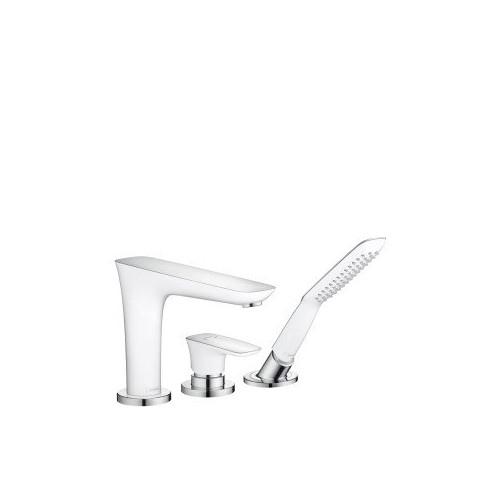 Смеситель для ванны 3 отверстия, Puravida, монтаж на ванну Hansgrohe 15432000