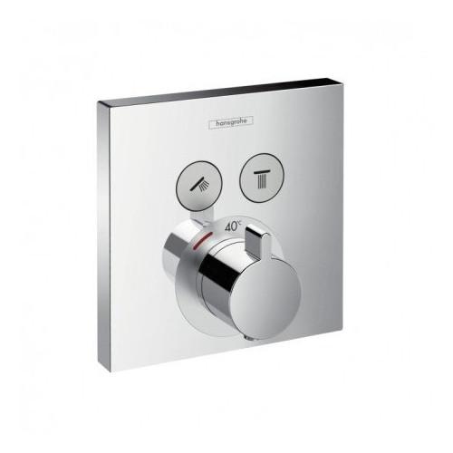 Смеситель термостат встраиваемый, на два потребителя ShowerSelect, Hansgrohe