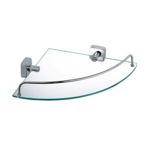 Полка стеклянная угловая FX-61303А Kvadro Fixsen