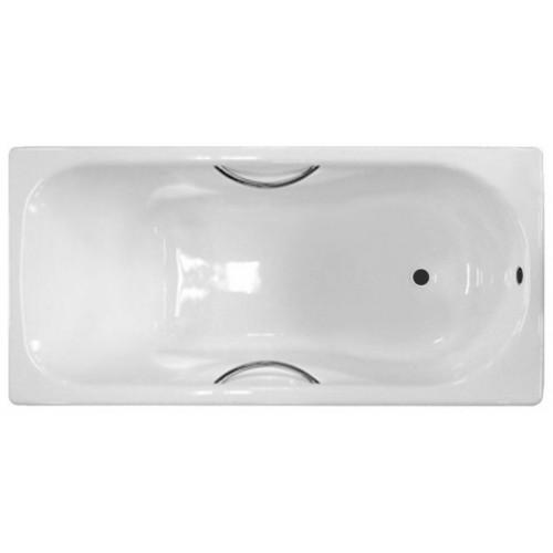 Ванна чугунная 150x75 Сибирячка У с отверстиями для ручек, Новокузнецк