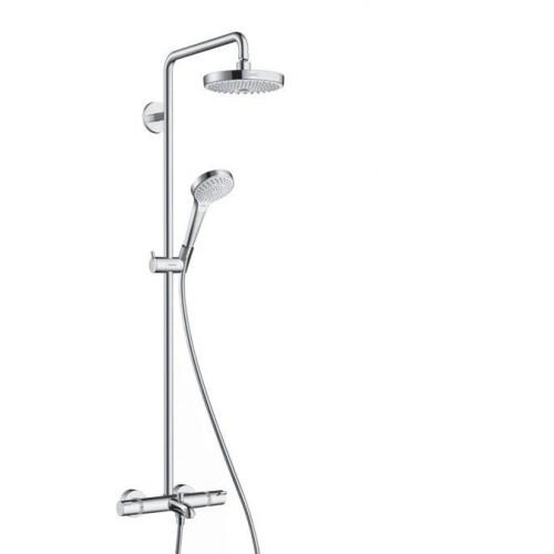 Душевая система с термостатом Croma Select S 180 2jet Showerpipe, Hansgrohe