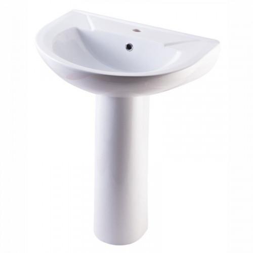 Умывальник 60 см, белый, Элеганс, Кировская керамика Rosa