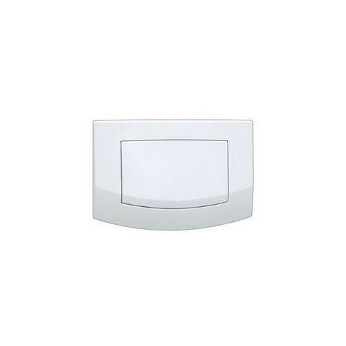 Смывная клавиша Tece Ambia 9 240 140 с одной клавишей смыва, белый, антибактериальная