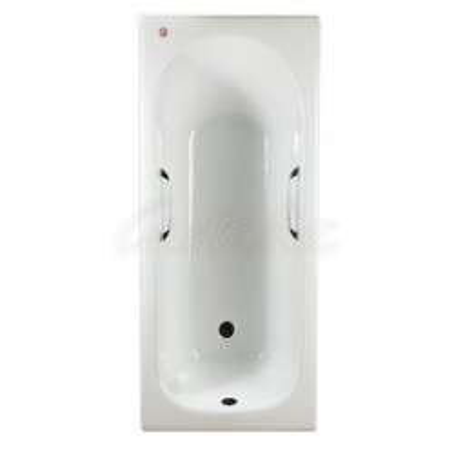 Ванна 170x70 чугунная с ручками Castalia