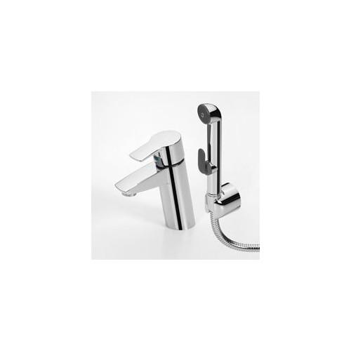 Смеситель для умывальника с ручным душем Oras Cubista (2812F)
