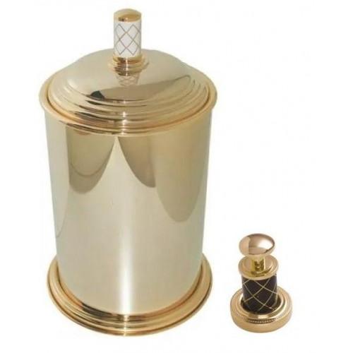 Ведро металл Boheme Murano золтое шоколад 10907-CH-G