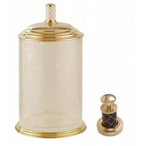 Ведро стекло Boheme Murano золтое шоколад 10914-CH-G