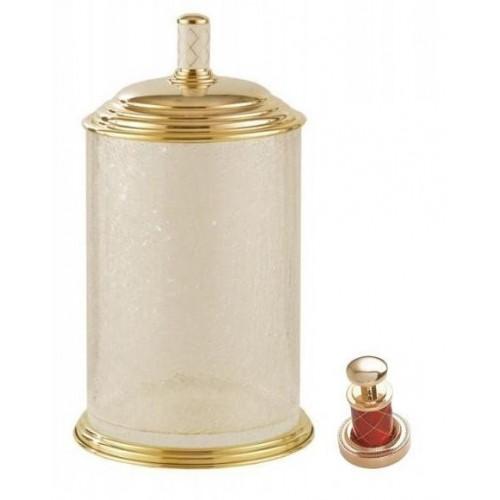 Ведро стекло Boheme Murano золтое рубин 10914-R-G