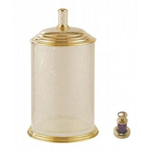 Ведро стекло Boheme Murano золтое виолет 10914-V-G