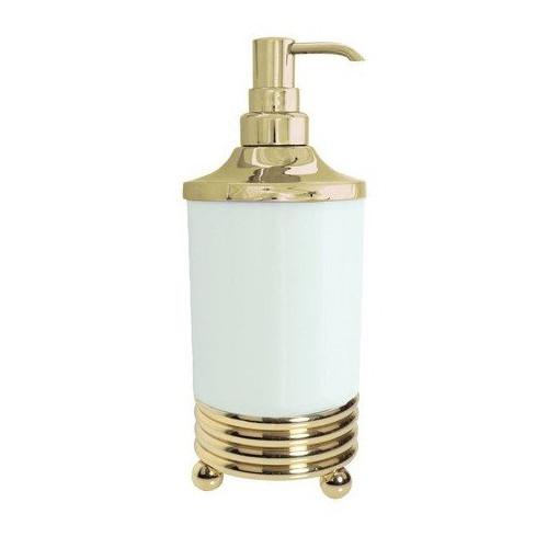 Настольный дозатор для жидкого мыла Boheme Hermitage бронза 10329