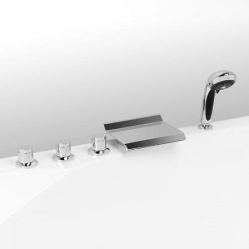 Смеситель на борт ванны Vega Grand (5 эл.) LUX, 91А0105022