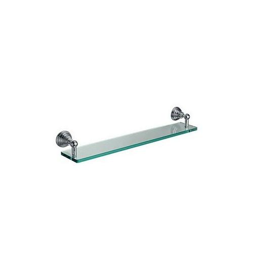 Canova Полочка в ванную 60 см, хром/золото, CA11339
