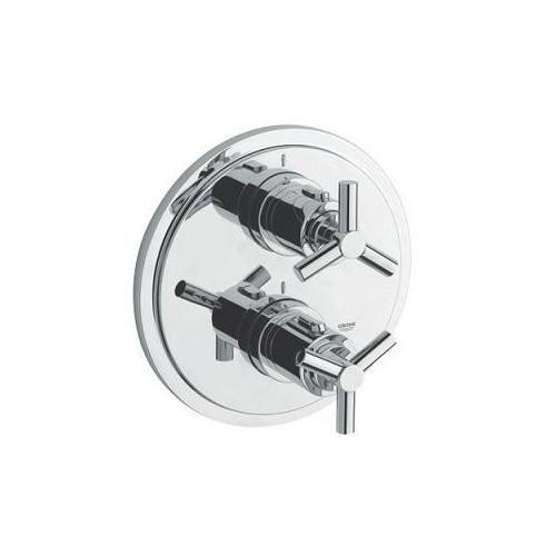 Смеситель для ванны термостат скрытого монтажа, Atrio Classic, Grohe 19395000