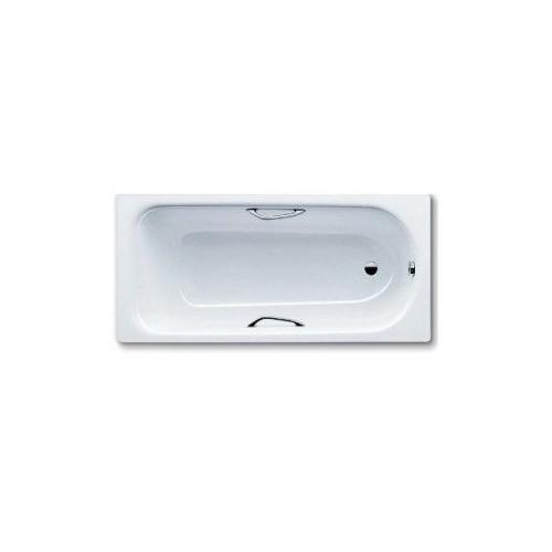 Стальная ванна 160x75 Saniform Plus Star Mod. 333, с отверстием для ручек, Antislip, Kaldewei