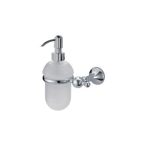 Regency Дозатор для жидкого мыла настенный, сатиновое стекло, хром, RE12751