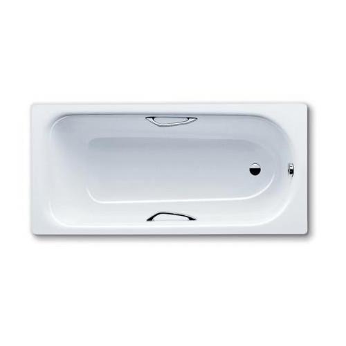 Стальная ванна 160x70 Saniform Plus Star Mod.332, с отверстием для ручек, Kaldewei