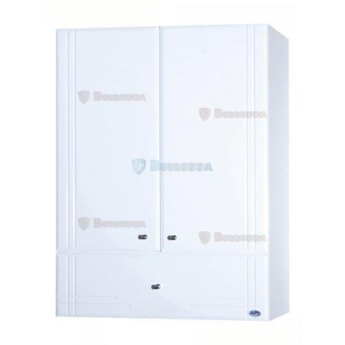 Лилия-60 шкаф подвесной с нижним ящиком, 60 см, белый, Bellezza