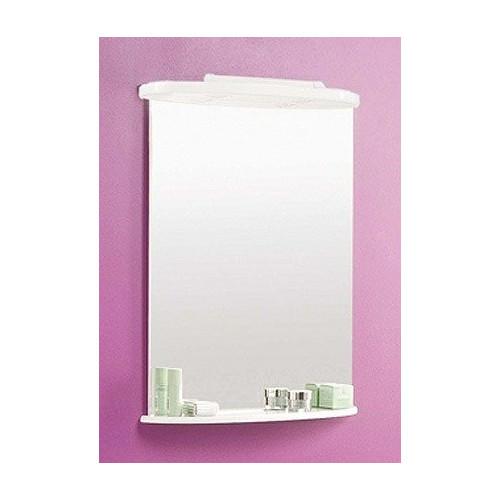 Зеркало 65см, Минима 65, белое, Акватон