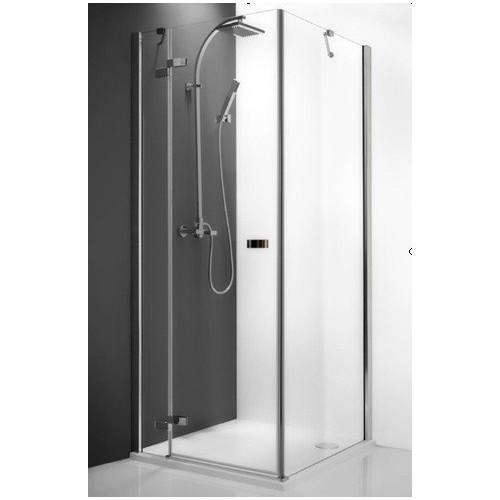 Распашная дверь для комбинации Elegant Line GDOL(P)/800, 80см, левая, правая, профиль хром, Roltechnik