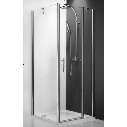 Распашная дверь для комбинации Tower Line TDO1/900, 90см, профиль мат. хром, Roltechnik