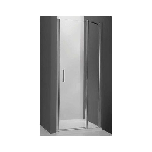 Душевая дверь в нишу Tower Line TDN1/80, 80см, профиль мат. хром, Roltechnik