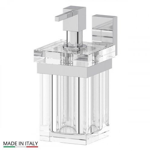 Дозатор для жидкого мыла, стеклянный, Tiffany CR, LineaG
