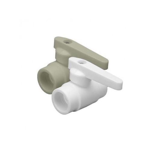 Кран шаровой PPR белый 20 ФД-пласт 22301