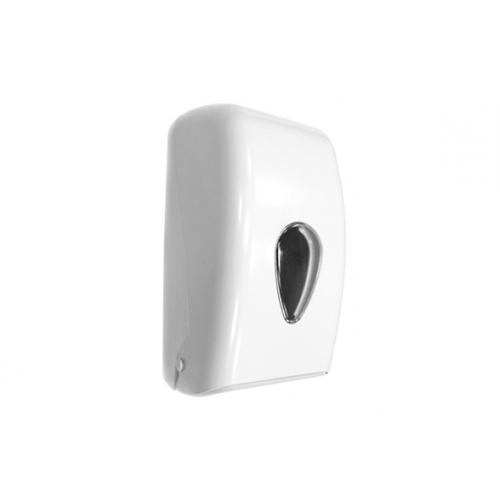 Диспенсер для туалетной бумаги белый Nofer 05118.W