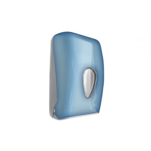 Диспенсер для туалетной бумаги синий Nofer 05118.T
