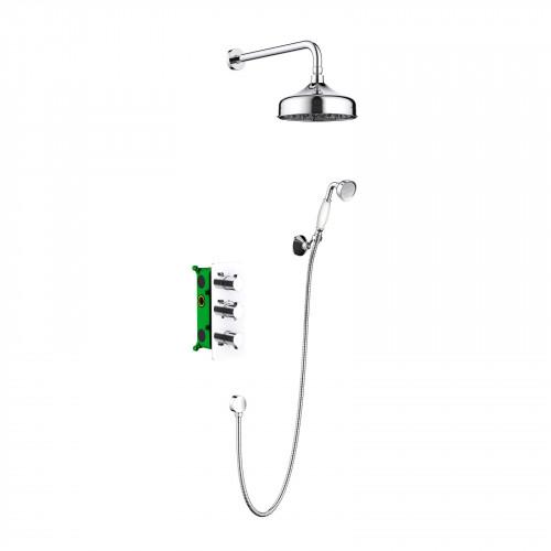 Душевая система для ванной с термостатом хром Timo Petruma SX-5169/00SM