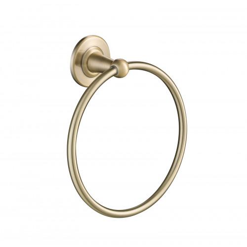Полотенцедержатель кольцо античная бронза Timo Nelson 160050/02
