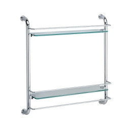K-2022 Полка стеклянная двойная, WasserKRAFT