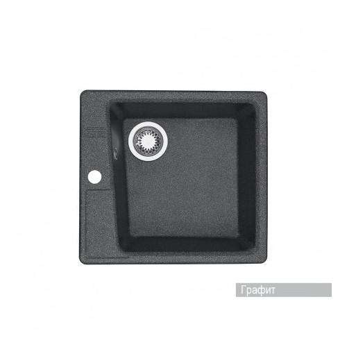 Мойка для кухни Aquaton Парма квадратная графит 1A713032PM210