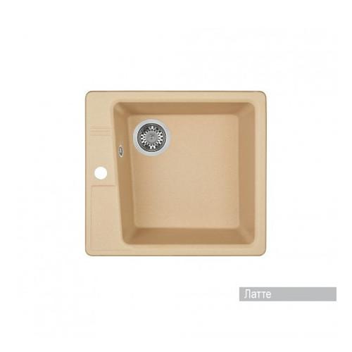 Мойка для кухни Aquaton Парма квадратная латте 1A713032PM260