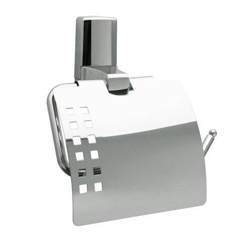 Держатель для туалетной бумаги с крышкой Wasser Kraft Leine К-5025