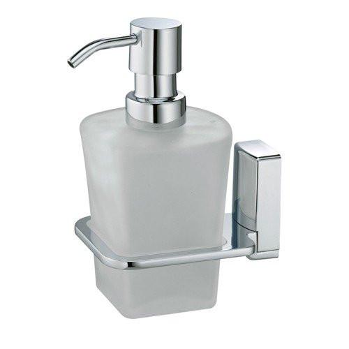 Дозатор для жидкого мыла стеклянный Wasser Kraft Leine К-5099