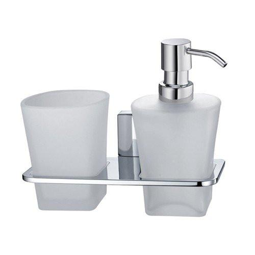 Держатель стакана и дозатора Wasser Kraft Leine К-5089