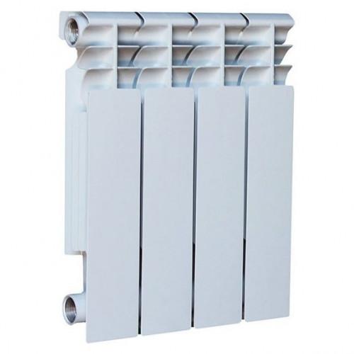 Радиатор биметаллический Оазис 350/80 4 секции (боковое подключение)
