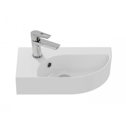 Раковина подвесная белая левая 45см Cersanit Cameo А63405