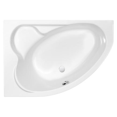 Ванна акриловая белая 153x100см Cersanit Kaliope WA-KALIOPE*153-L