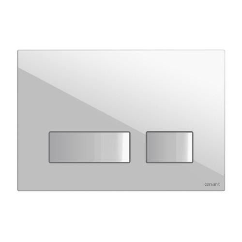 Кнопка пластик белая Cersanit Movi BU-MOV/Wh