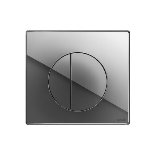 Кнопка пластик хром Cersanit Leon IN-LEON-C3506